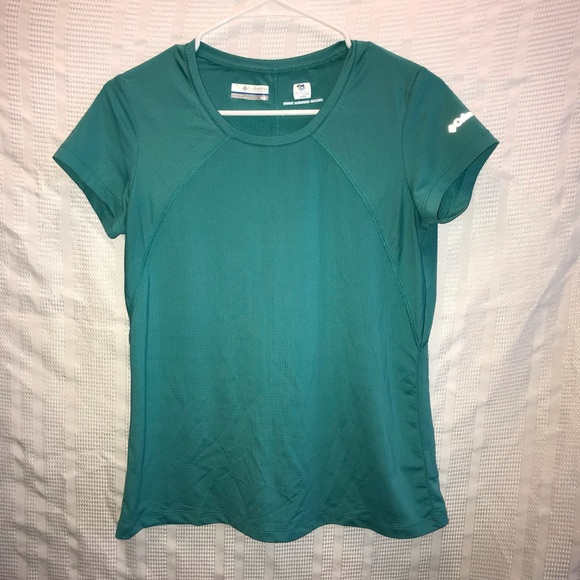 e26d8b6774f Columbia Tops | Omni Freeze Zero Sweat Activated Shirt M | Poshmark